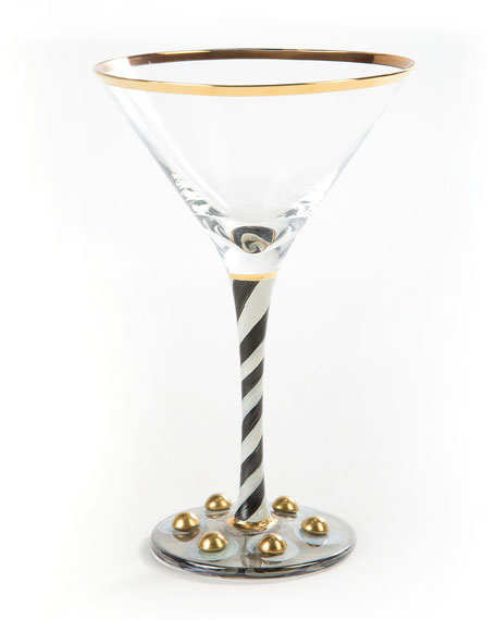MacKenzie-Childs Tango Martini Glass