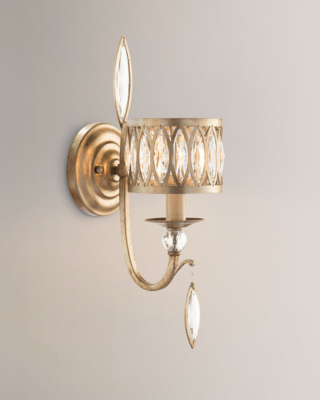 Marquis Crystal 1-Light Wall Sconce