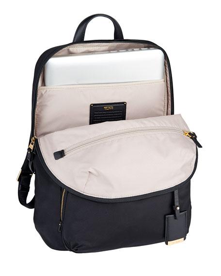 Voyageur Black Halle Backpack