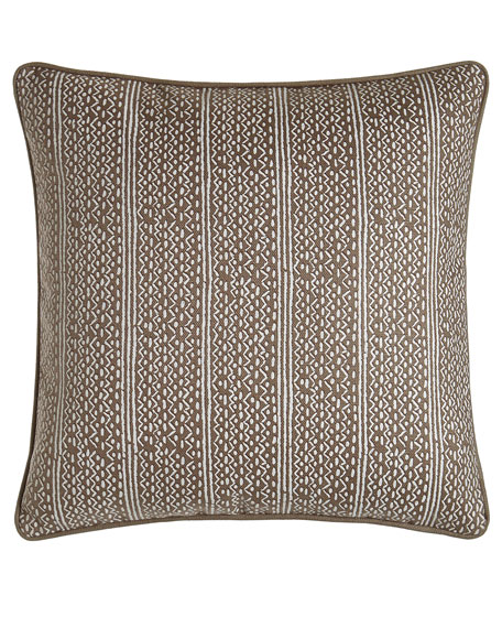 "Lucia Pillow, 22""Sq."