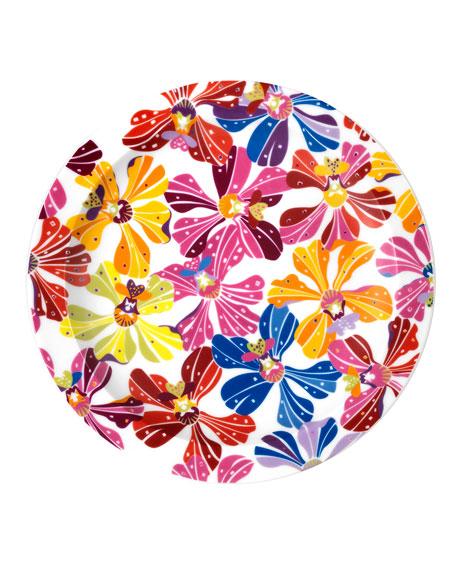 Flowers Dessert Plate