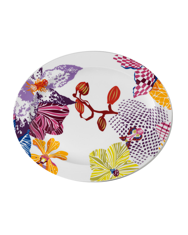 sc 1 st  Neiman Marcus & Missoni Flowers Oval Platter | Neiman Marcus