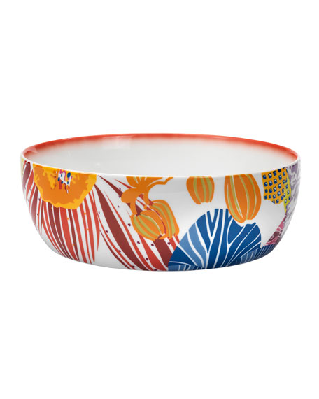 Flowers Salad Bowl