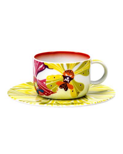 Flowers Teacup