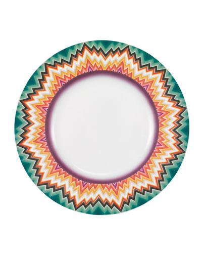 Zig Zag Dinner Plate