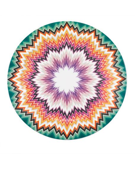 Zigzag Round Platter