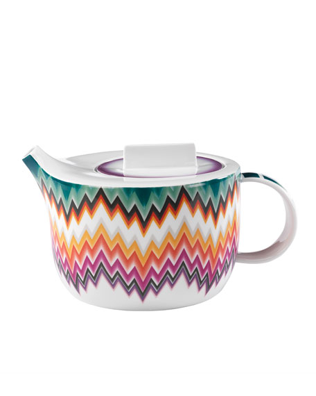 Zig Zag Teapot