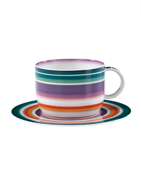 Zigzag Coffee Saucer