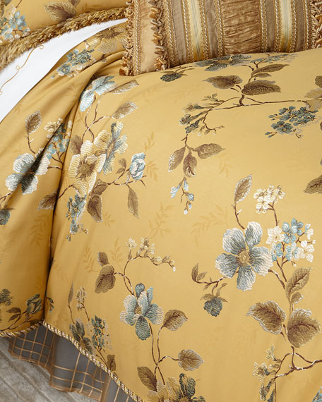 Sweet Dreams King Montiverde Floral Duvet Cover