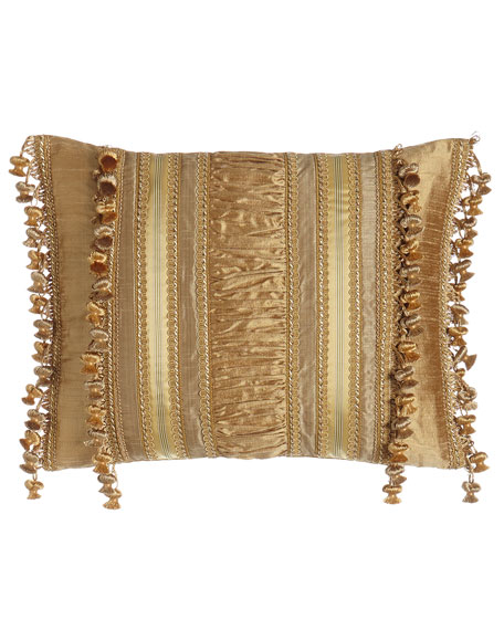 Montiverde Pillow with Onion Fringe, 17
