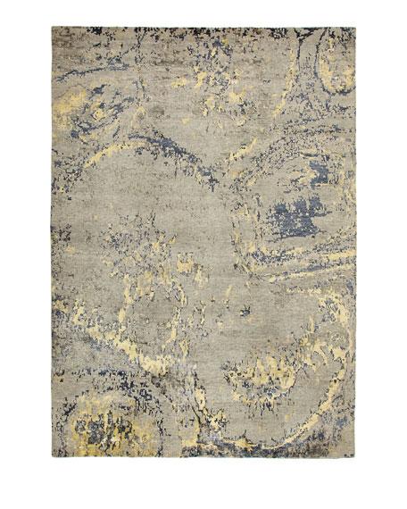 Dorian Gray Rug, 4' x 8'