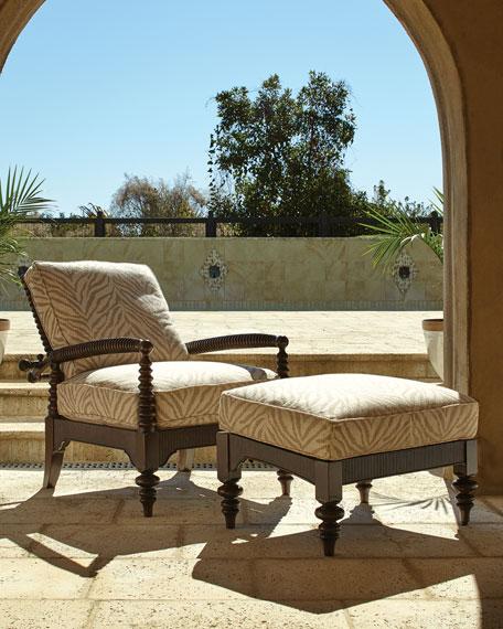 Hemingway Outdoor Morris Chair & Ottoman