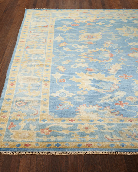 Ribbon Blue Rug