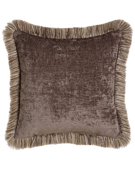 Dian Austin Couture Home Reversible Argent Pillow, 19