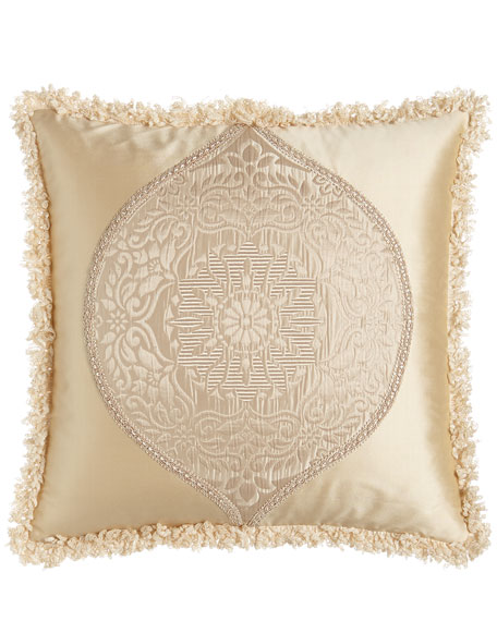 Dian Austin Couture Home Antonia Pillow with Damask