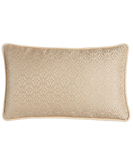 Dian Austin Couture Home Antonia Diamond-Weave Pillow, 14