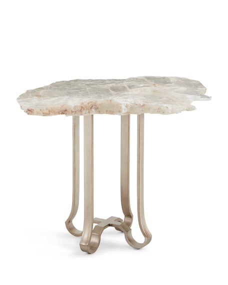 CASSANDRA SLAB END TABLE