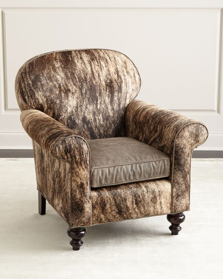 Old Hickory Tannery Cortez Hairhide Chair
