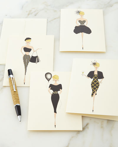 Posh Gals Note Card Collection