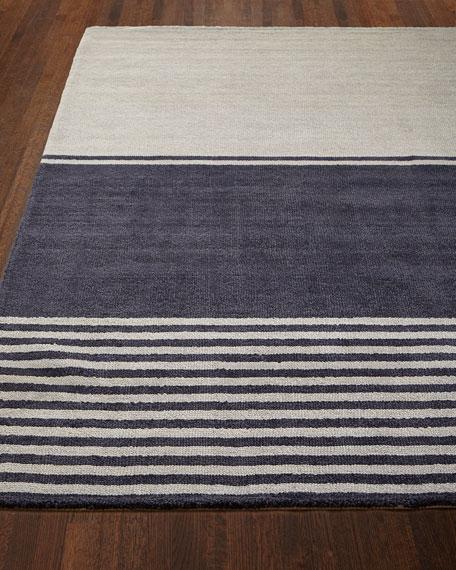 Tundra Stripe Rug, 4' x 6'