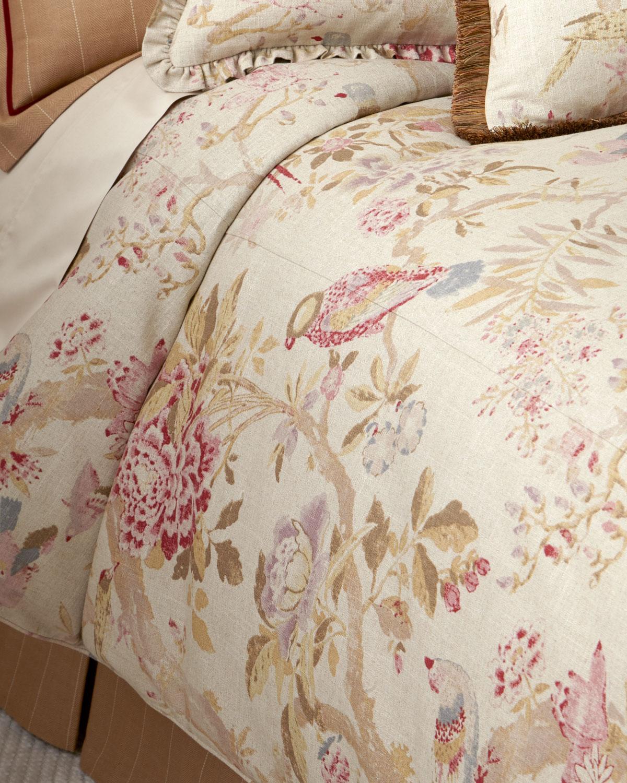 Legacy Queen Arielle Floral Bird Duvet Cover Neiman Marcus