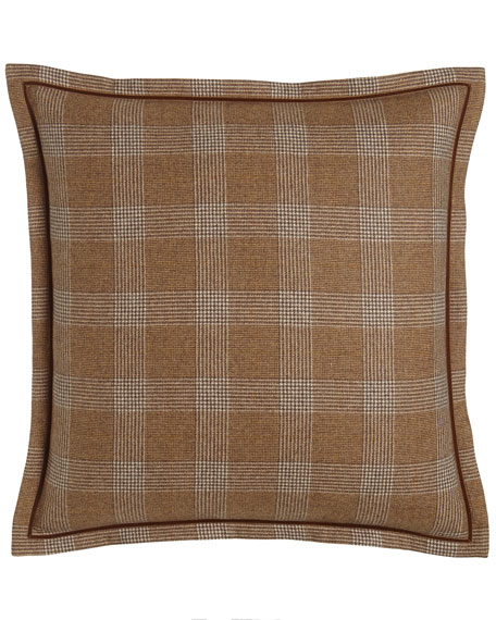 European Arielle Glamis Plaid Sham
