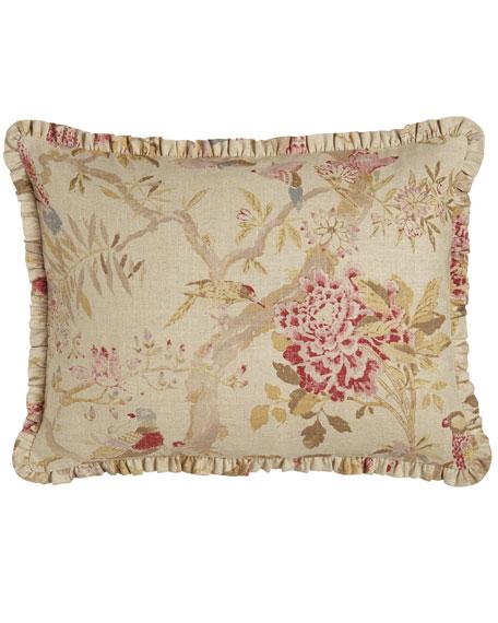 Standard Arielle Floral/Bird Sham