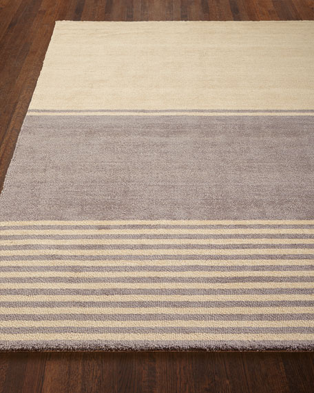 Gray Ribbon Rug