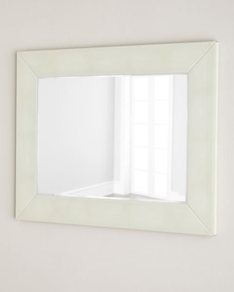 Shagreen-Framed Mirror