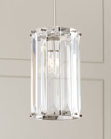 Holloway small 1 light pendant