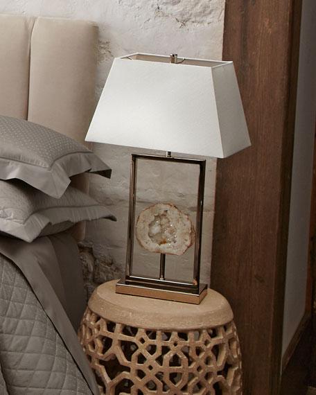 Split Geode Lamp