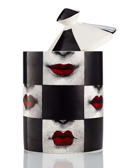 Fornasetti Labbra Scented Candle, 300 g