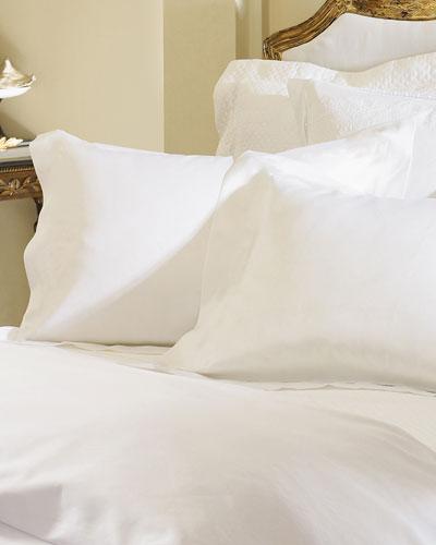 Two Standard Giza 45 Sateen Pillowcases