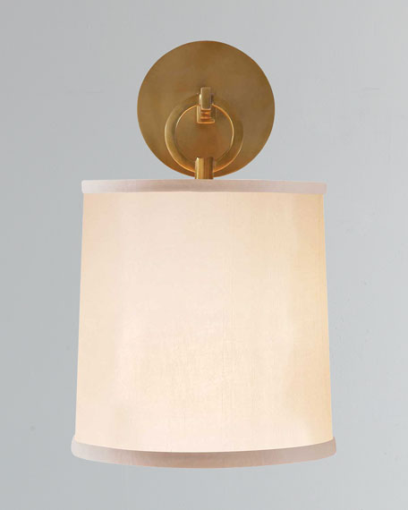 French Cuff Brass Sconce