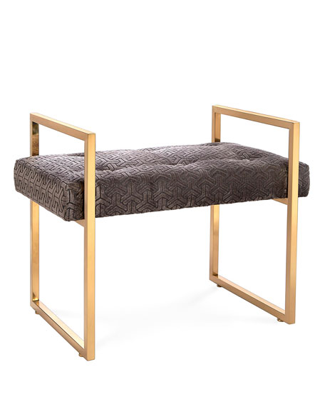 Caine Charcoal Bench