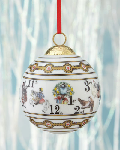The 12 Days of Christmas Bauble