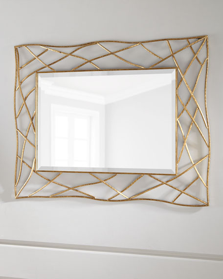 Golden Twig Mirror