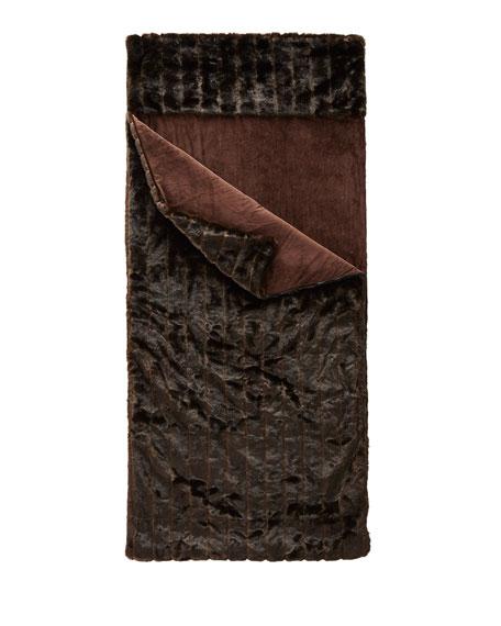 Faux-Fur Sleeping Bag