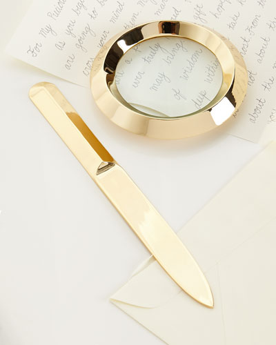Archer Letter Opener & Magnifying Glass