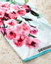 Image 2 of 2: Falling Rose Fuchsia Beach Towel