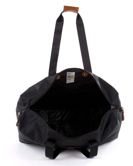 """Black X-Bag 22"""" Folding Duffel Luggage"""