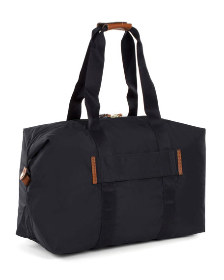 "Black X-Bag 18"" Folding Duffel Luggage"