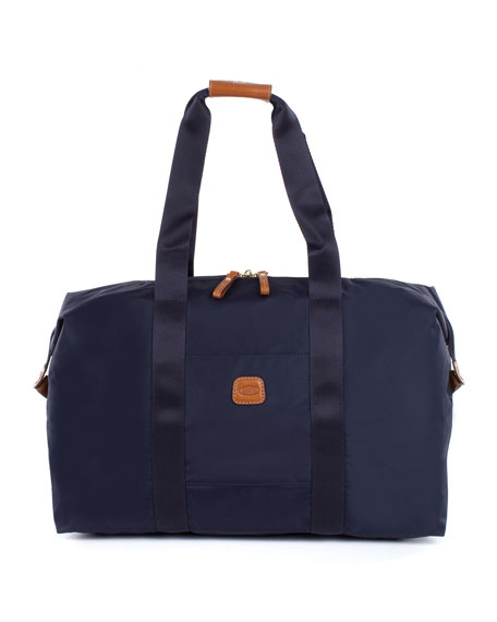 "Navy X-Bag 18"" Folding Duffel Luggage"