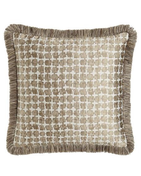 Dian Austin Couture Home European Driftwood Square-Pattern Sham