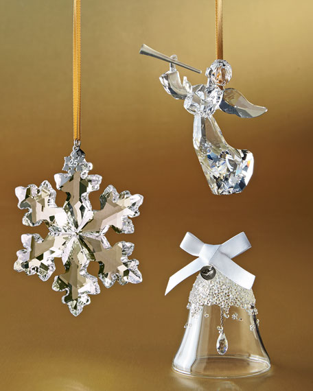 Limited Edition Luxury Christmas Ornaments: Swarovski 25th Anniversary Limited Edition Snowflake
