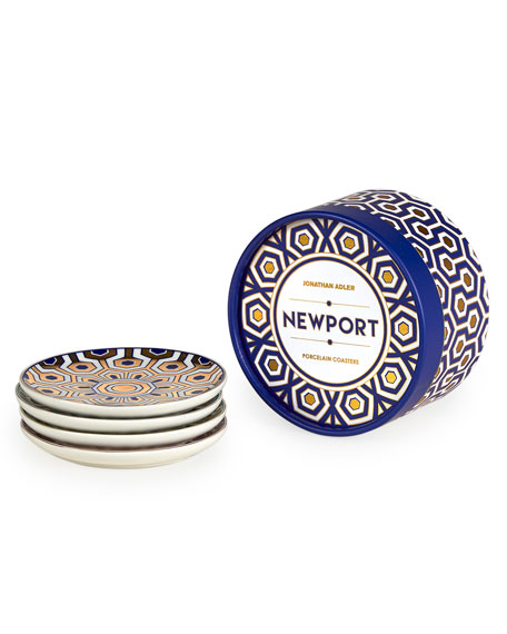 Newport 4-Piece Coaster Set