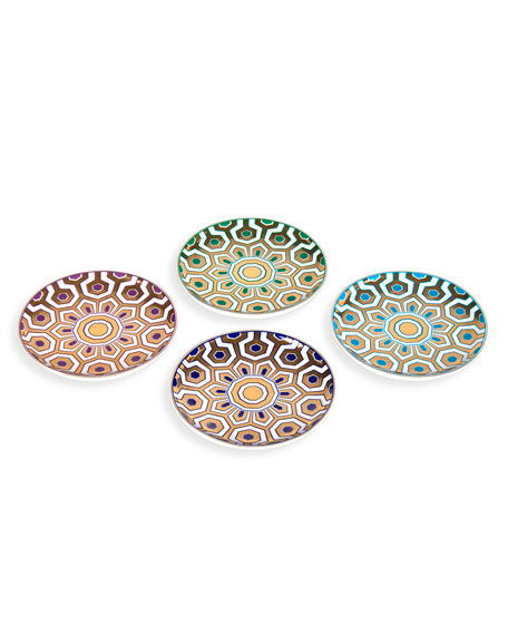 Jonathan Adler Newport 4-Piece Coaster Set