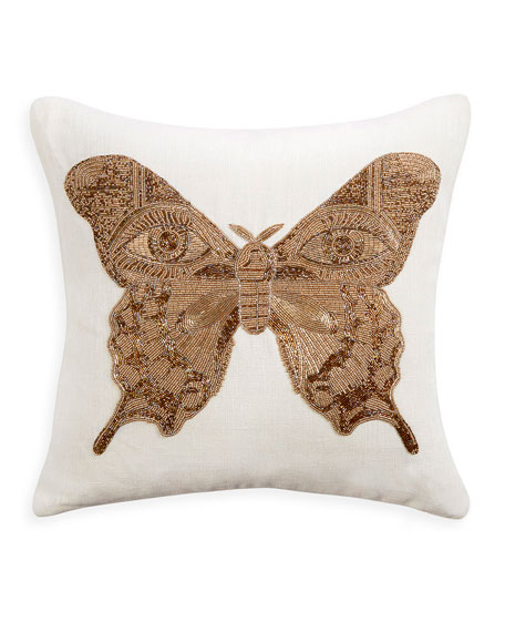 Jonathan Adler Muse Butterfly Pillow