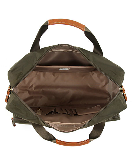 Olive X-Bag Boarding Duffel with Pockets