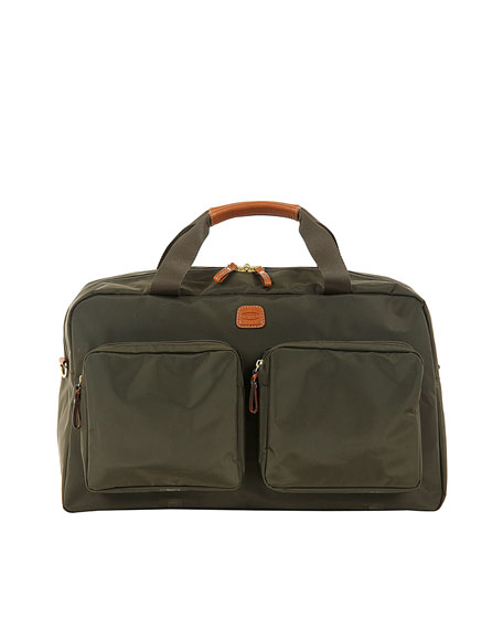 Bric's Olive X-Bag Boarding Duffel with Pockets